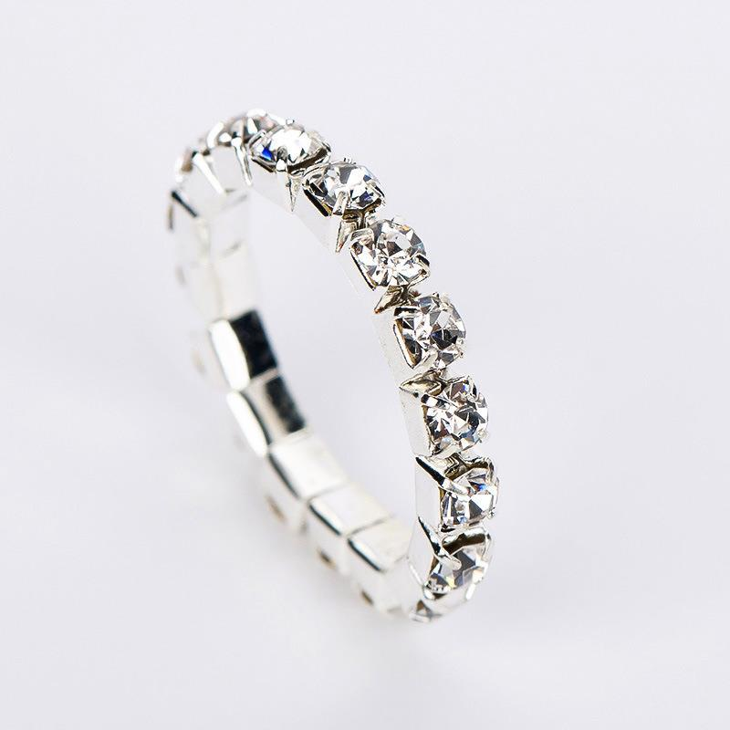 Luxury fashion inlaid zircon simulation diamond ring trendy index finger wholesale 2020 new R001