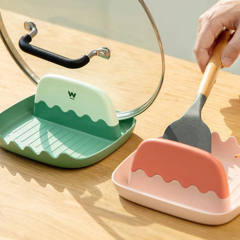 Multifunctional spatula rack, spoon storage household chopsticks, mat holder, kitchen pot cover rack