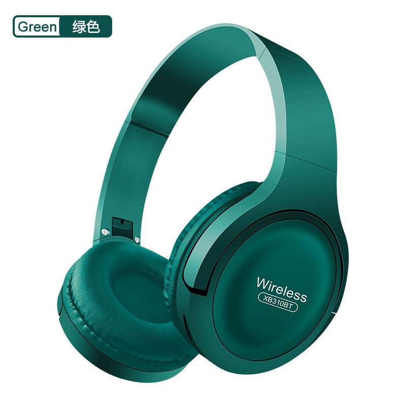 [Pangpai] XB310 wireless bluetooth headset cool pluggable music bass student