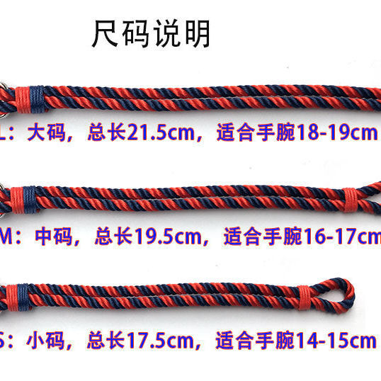 European and American style hand-woven trend anchor bracelet men women leather multi-layer hand rope navy student jewelry